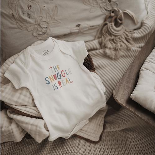 Finn + Emma Snuggle is Real Onesie