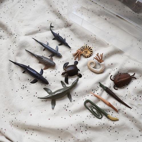 CollectA Mini Prehistoric Marine Animals Set