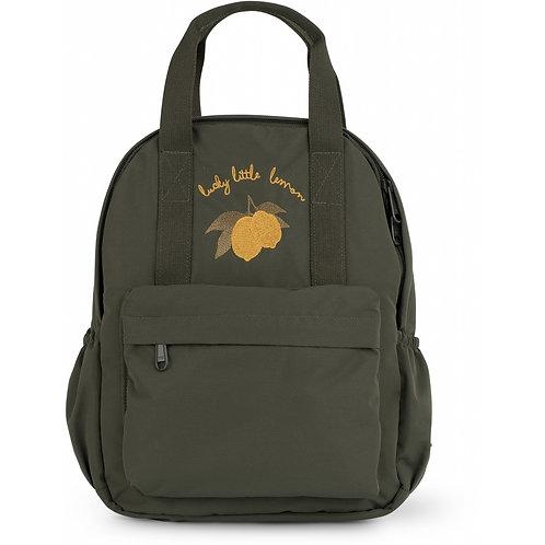 Konges Slojd Mini Loma Backpack - Moss Grey