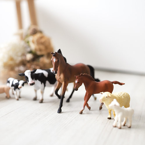 CollectA Farm Animals Set - 8pcs