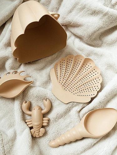 Konges Slojd Beach Toy Set - Beige