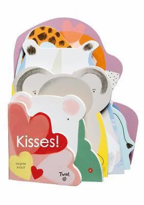 Kisses! Book by Virgine Aracil
