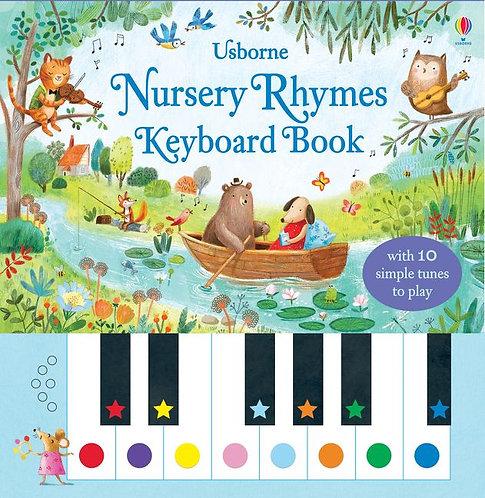 Usborne Nursery Rhymes Keyboard Book Book by Sam Taplin