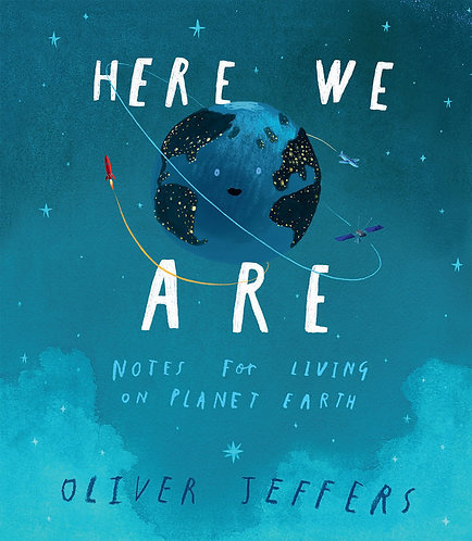 Here We Are Oliver Jeffers Singapore Mellow Toddler Book