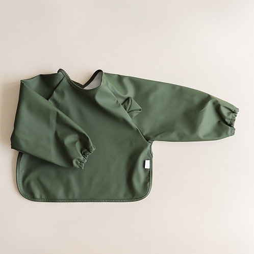 Mellow Singapore Bib Cape - Bear / Seaweed