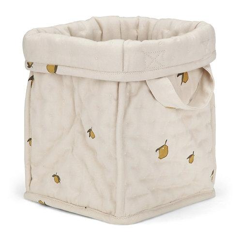 Konges Slojd Small Quilt Box - Lemon