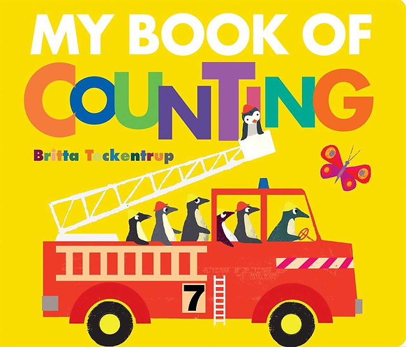 My Book of Counting by Britta Teckentrup