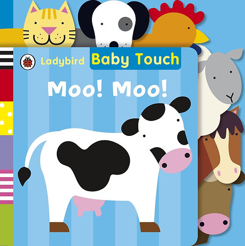 Baby Touch: Moo! Moo! Book - Mellow Singapore