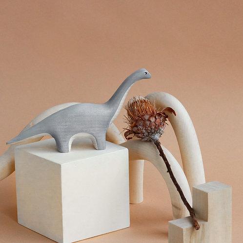 Izvetvey Wooden Diplodocus Dinosaur With Built-In Magnets