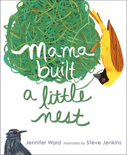 Mama Built a Little Nest: With Audio Recording Book by Jennifer Ward