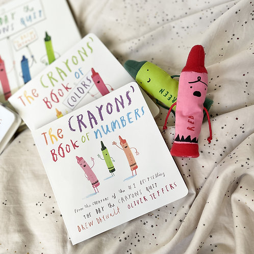 The Crayons- A Set of Books and Finger Puppets Book by Drew Daywalt