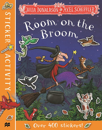 Room on the Broom Sticker Book by Julia Donaldson