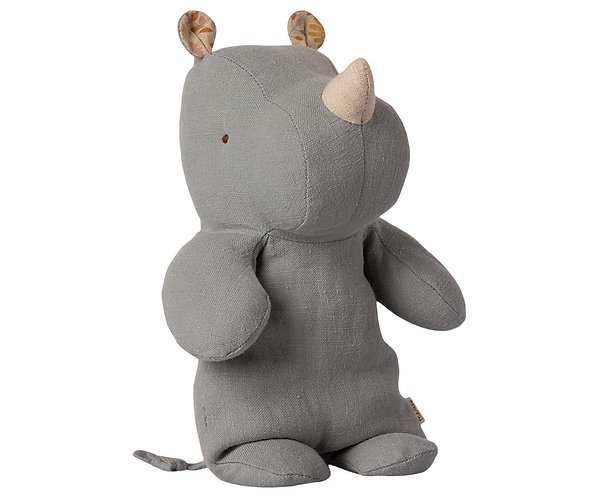 Maileg Rhino - Blue grey