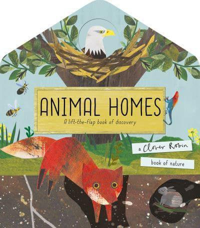 Animal Homes Book by Libby Walden