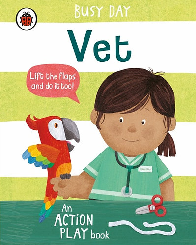 Busy Day- Vet An action play book. Series- Busy Day Dan Green