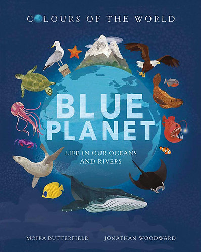 Colour of the world: Blue Planet Mellow Singapore Toddler Book
