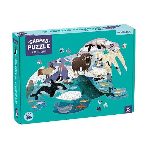 Arctic Life 300 Piece Shaped Scene Puzzle Mudpuppet