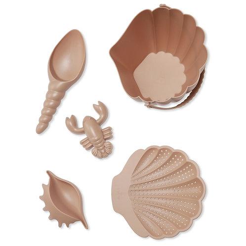 Konges Slojd Beach Toy Set - Rose Blush