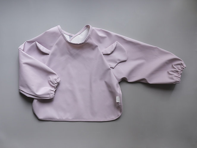 Mellow Bib Cape - Elephant / Lilac Wish