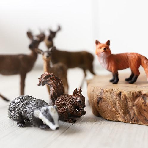 CollectA Woodland Animals Set - 9pcs