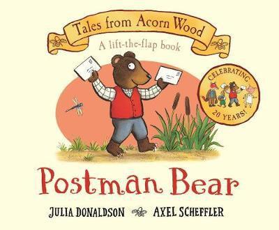 Postman Bear Book by Julia Donaldson