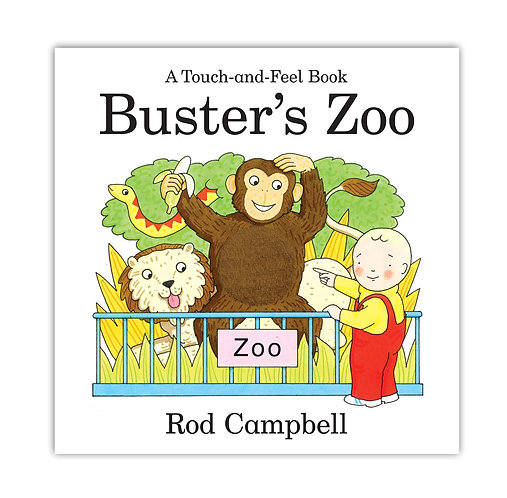 Touch & Feel: Buster's Zoo