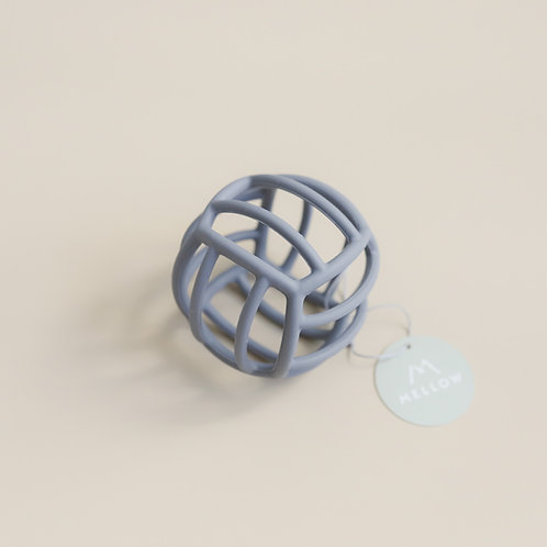 Mellow Silicone Ball Teether - Sky