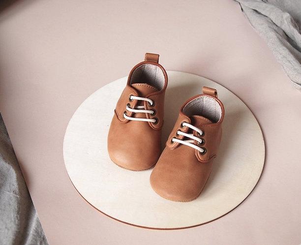 Kit & Kate Starter Shoes - Oxford Honey