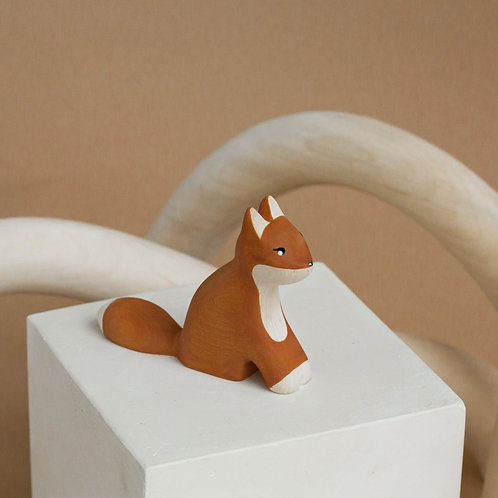 Izvetvey Wooden Fox With Built-In Magnets