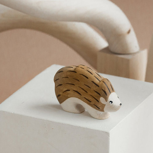Izvetvey Wooden Hedgehog With Built-In Magnets