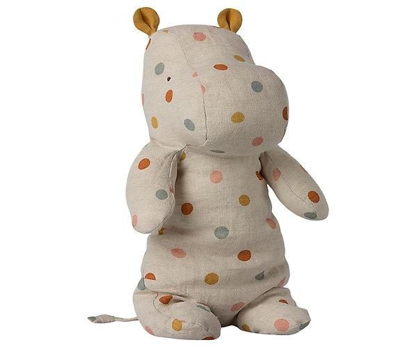 Maileg Hippo, Medium - Multi Dot