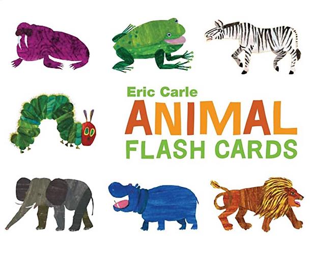 The World of Eric Carle Animal Alphabet Flash Cards