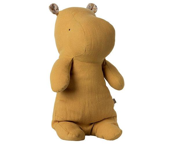 Maileg Hippo, Medium - Dusty yellow