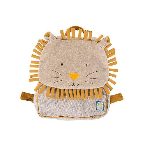 Moulin Roty Paprika Lion Child Backpack
