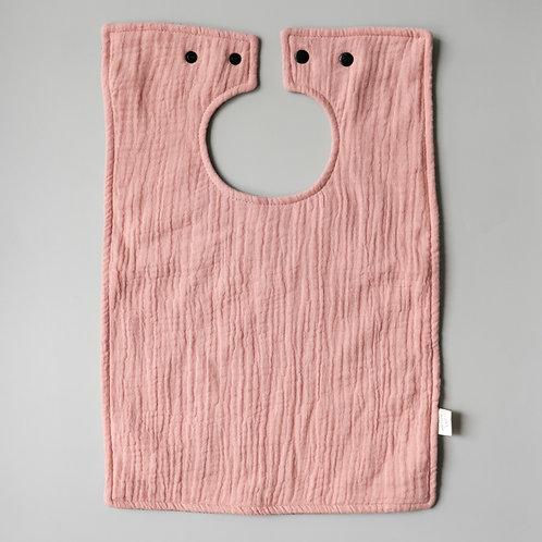 Mellow Singapore Water Resistant Baby Feeding Bib in Pink