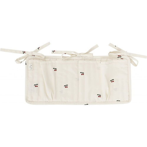 Konges Slojd Quilted Bed Pockets - Cherry