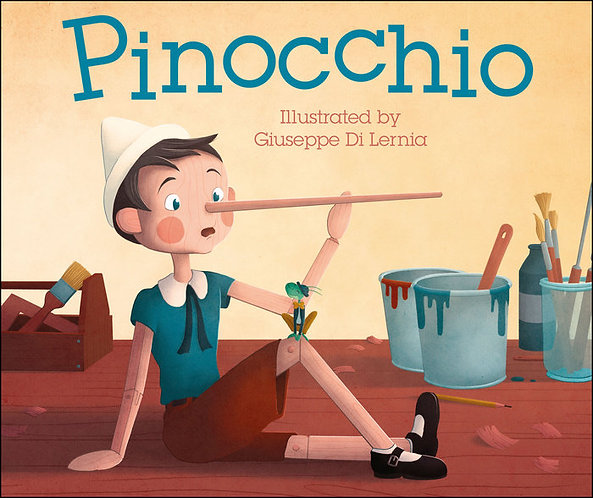 Pinocchio Book by DK