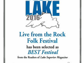 Lake Superior Magazine Names Live from the Rock Best Festival!