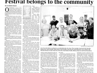 Festival Belongs to the Community