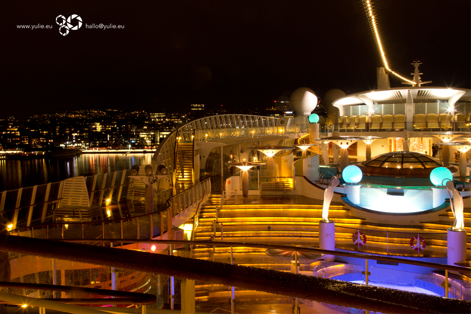 Pool Deck 12, Aida Diva, Oslo Haven