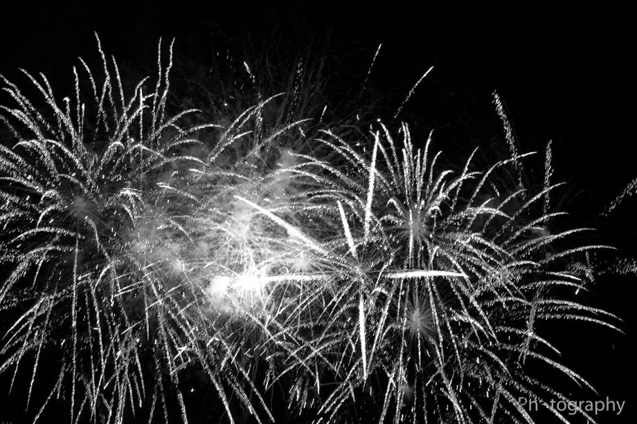 Feuerwerk Hanse Sail 2014
