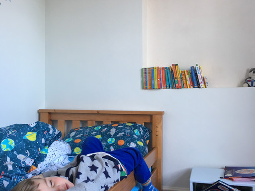 BIG BOY BED AND MUSICAL FURNITURE