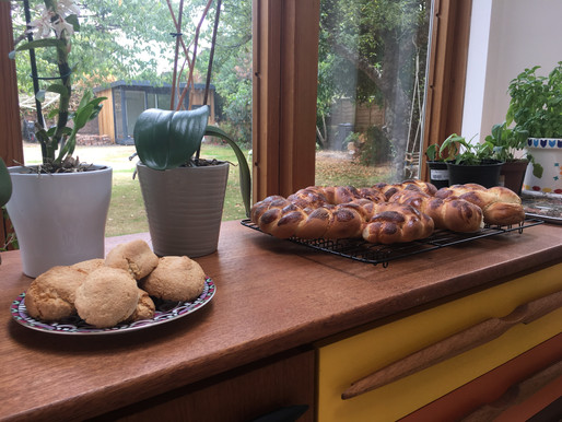 BAKING YOUR WAY OUT OF A FUNK