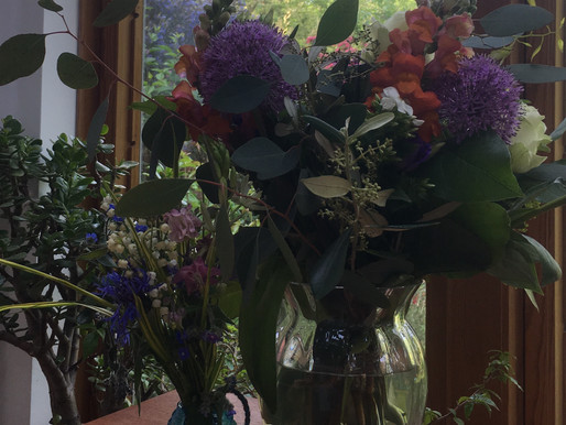 FLOWERS FOR ME!