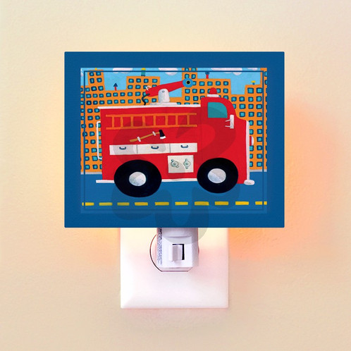 Fire truck mom and baby classes ontario serenity birth studio some of our night lights can be personalized with a childs name and all come packaged in our gorgeous signature gift box negle Choice Image