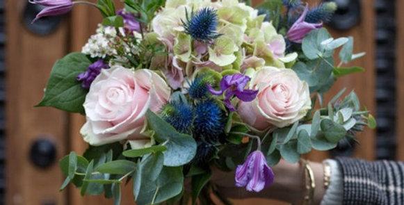Bouquet de saison pastel