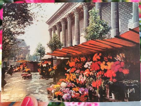Le marché aux fleurs de la Madeleine