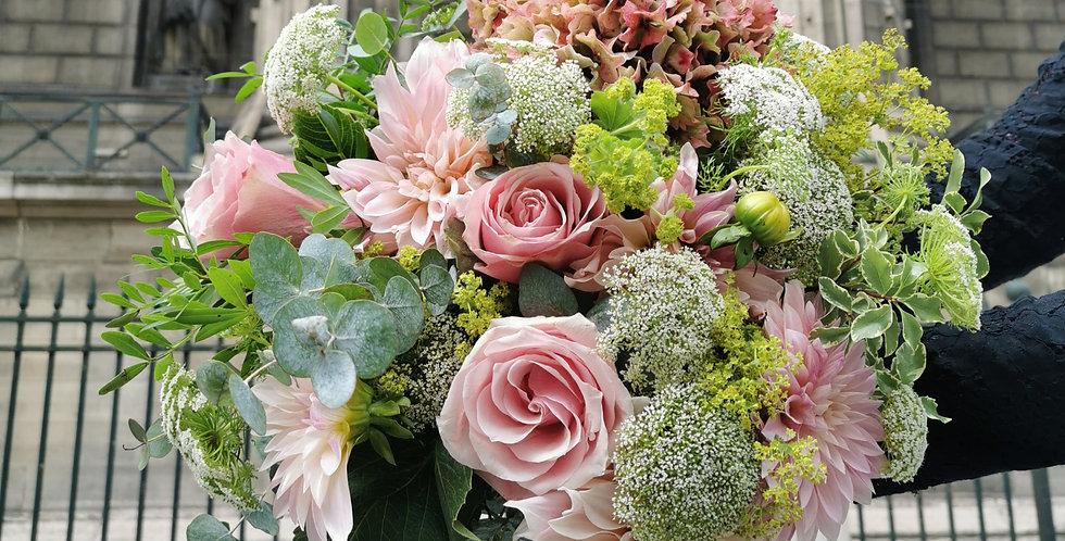Bouquet Ile fleurs de france -Septembre