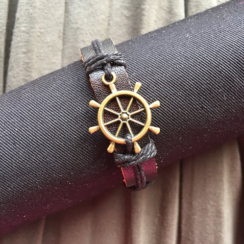 Ship Helm  |  Water Elements Bracelet
