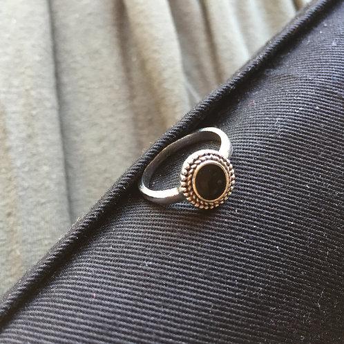 Black Button  |  Soul Elements Ring